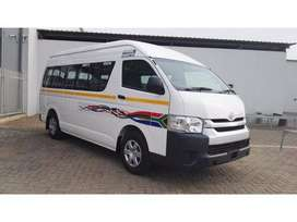 Transport for stuff, private hire and long distance travels