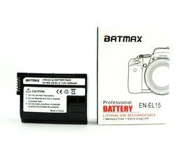 Аккумулятор Nikon Batmax EN EL15 D500 D600 d750 d7000 D7100 d7200 D800