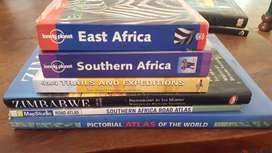 Books on travel in Africa