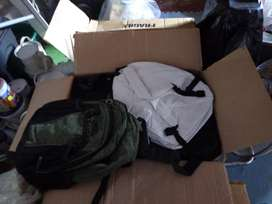 Assortment of tog bags and backpacks +/- 15