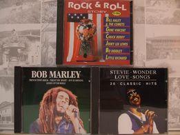 4 x CD > Stevie WONDER , Bob MARLEY , Rock&Roll STORY