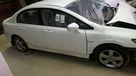 Stripping 2007 Honda Civic lx 1.8 For Spares