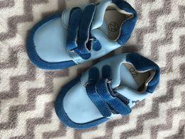 Чешки ботиночки кожанные босоногая обувь на малыша новые стелька 14,5