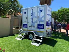 mobile toilet and mobile fridge hire