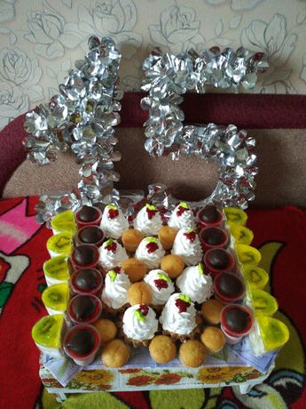 Цифра 1 та 5 на день народження Ивано-Франковск - изображение 3