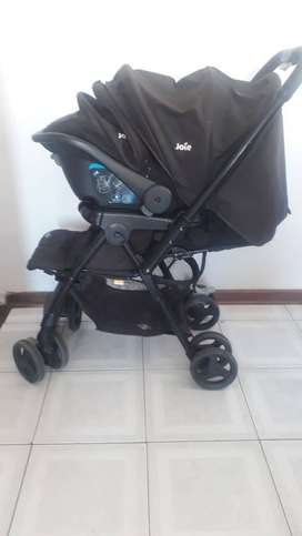 Joie pram and car seat