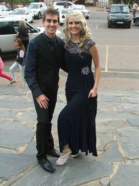 Matric Farewell dress and shoes