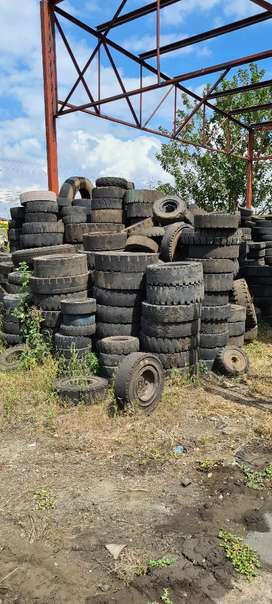Old Solid tires- Free