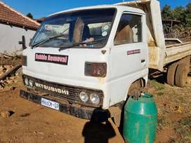 Good condition Mitsubishi tipping truck