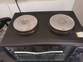2 burner stove with oven