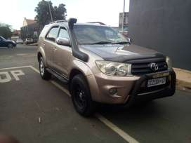 2009 Toyota Fortuner 4.0 D4D Automatic