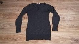 szary, ciepły sweterek house rozmiar xs