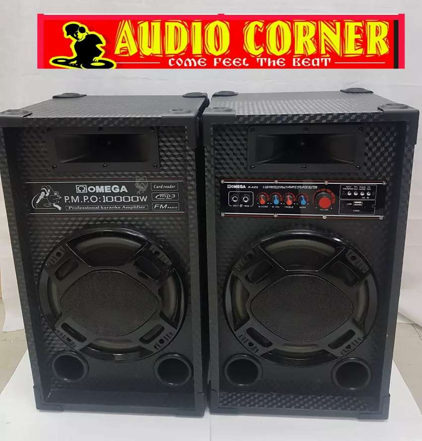 Omega Sound System Ready to Play 0