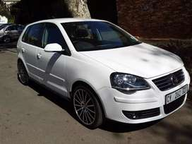 2008 V W Polo bujwa 1.6 hatch back sport light