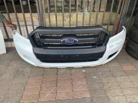 Ford ranger complete bumper and grill
