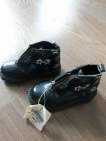 Полуботинки кожанные ботинки