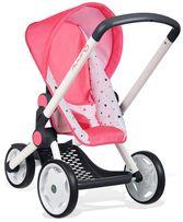 Smoby Прогулочная трехколесная коляска для кукол пупсов 255098 Maxi Co