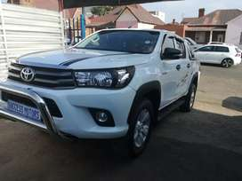 2017 Toyota Hilux 2.4 GD6 D/cab 4 by 4