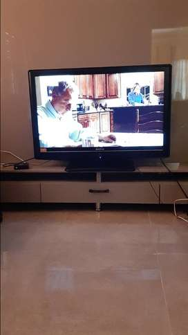 Lcd tv and cabnet