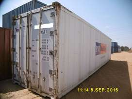 2m / 40 foot Maersk Non Running Reefers