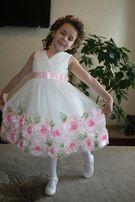 Роскошное платье на выпускной в садик из США