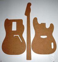 Szablon gitary typ Fender Sting51 Precision Bass