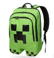 Рюкзак школьный MineCraft Майнкрафт Creeper + браслет в подарок