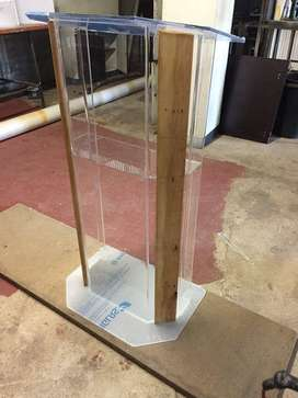 Wood & Acrylic Combination Pulpits