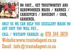WE HAVE HARD WORKER MAIDS AND NANNIES