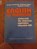 """""""English in Medicine"""" J. Ciecierska, B. Jenike, K. Tudruj"""