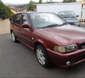 2005 Toyota Tazz 1300 in excellent running order for sale with service