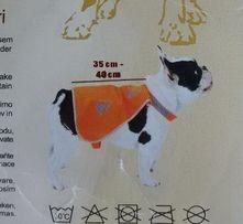 Одежда для собаки 35-40 см. светится в темноте.