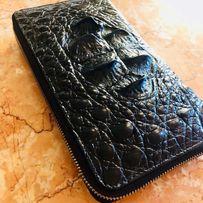 Мужской кошелёк из кожи крокодила