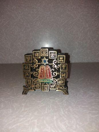 Салфетница бронза латунь Иерусалим Запорожье - изображение 1