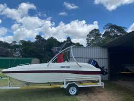Sensation 19ft Ski/Wakeboard boat
