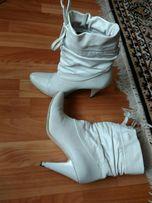 Ботинки демисезонные, женские кожаные