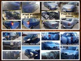 Daihatsu and Fiat spares for sale.