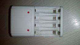 Зарядное для пальчиковых NI- MH/NI-Cd аккумуляторов