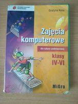 Podręcznik Zajęcia komputerowe klasy IV-VI dla szkoły podstawowej