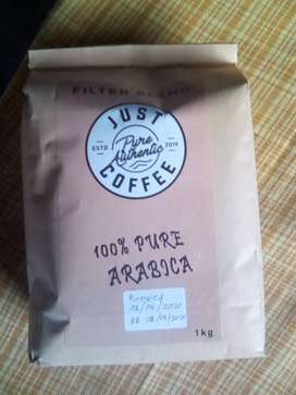 Just Pure Authentic Coffee