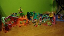 Littles pet shop Mega zestaw 6 domów 44 figur magnetyczna karuzela LPS
