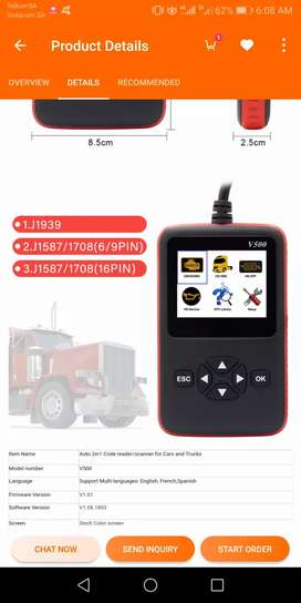Truck auto diagnostic tool diagnostic scan tool for cars and trucks
