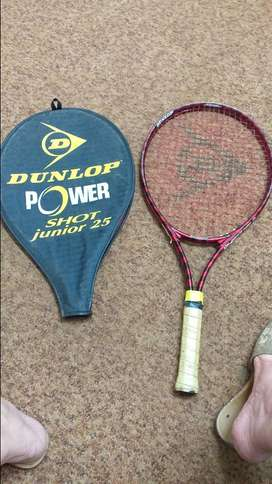 Dunlop power shot junior 25 tennis racket and cover for sale