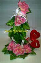 Парящая чашка Талисман Оригинальный подарок цветы Призент