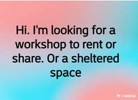 Im looking for workspace to rent or share