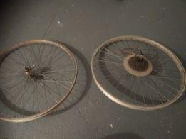 Koło rowerowe przednie i tylne