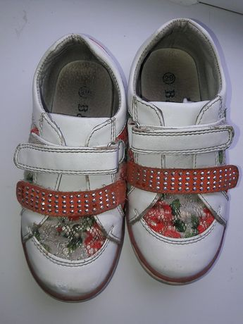 кожанные ботинки B&G на девочку р.29 Новомосковск - изображение 5