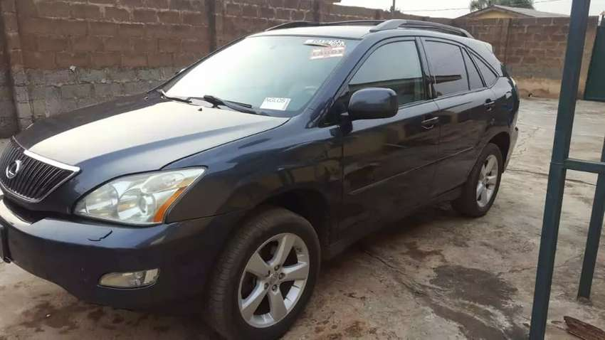 Foreign Used 2007 Lexus Rx350 0