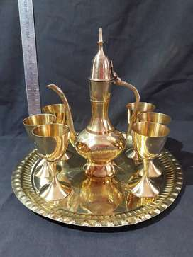 Small Wine Set (Brass)