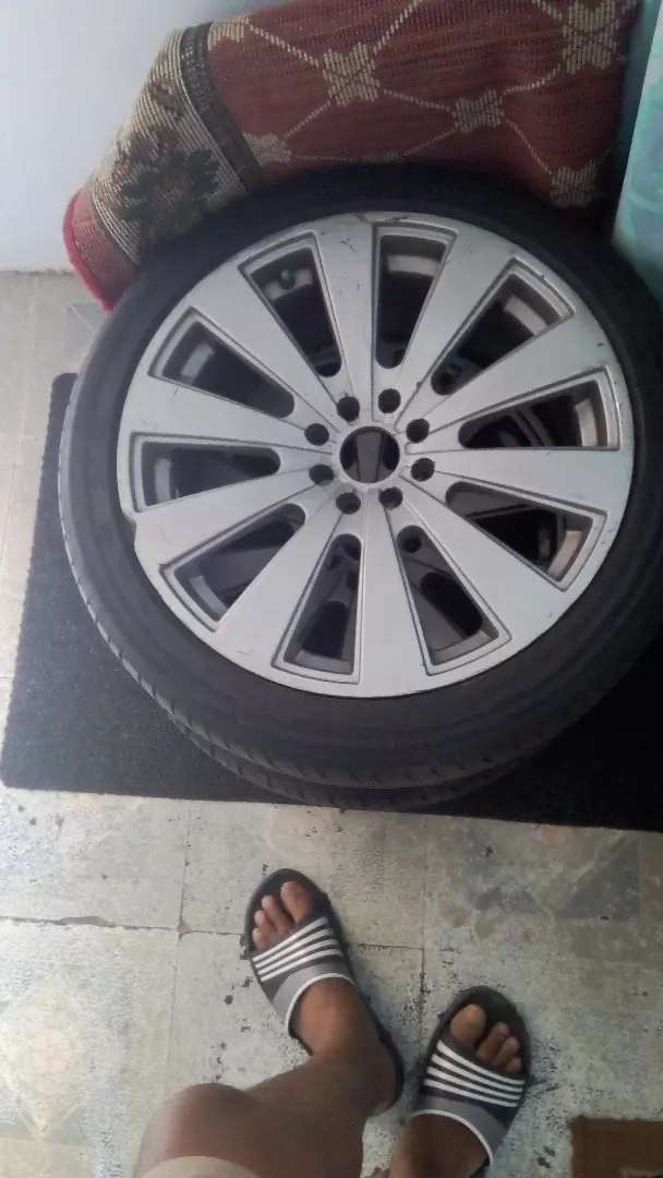 "17"" mags with good Tyres bargin 0"